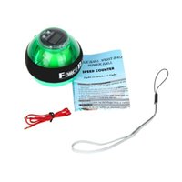 Wholesale Magic show Force Ball LED Power Ball Gyro Wrist Ball with Speed Meter Colors is Avaliable free