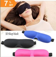 Wholesale Eye Mask Blindfold Shade Travel Sleep Aid Cover D Portable Patches Colors
