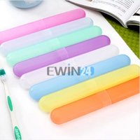 Wholesale Travel Tooth Brush Holder Cover Case Keep Brush Clean Holiday Vacation New and Hot Selling