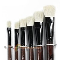 best painting supplies - R1B1 Best New White Nylon Paint Brushes For Artist Supplies