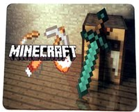 Wholesale 20pcs NEW Minecraft Mousepad models Mix Accepted Good Quality in stock