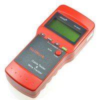 Wholesale LCD Display Network LAN Cable Tester Wire Tracker Tracer Length Scanner E E