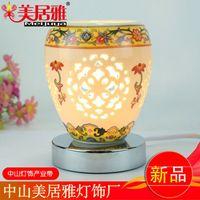 aroma lamp manufacturers - Manufacturers supply cheap hot plug creative ceramics small night light aroma lamp bedroom lamp living room T0289