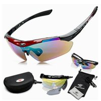 Wholesale 2015 New Cycling Glasses Sunglasses color lens Sport Sunglasses Glasses Cycling protective Gear Polarized Eyewear