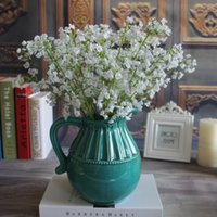 Wholesale Aartificial Flowers Gypsophila Baby s Breath Fake Silk Flowers Plant Home Wedding party Christmas Decorative Flowers Decoration