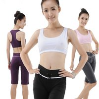 Wholesale Hot Summer High Quality Sport Suit Cotton Yoga Outfits Women Fitness wear sports wear yoga Pices Pant and Top