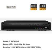 Wholesale 16CH H HD P POE CCTV Security Surveillance Network NVR HDMI P2P
