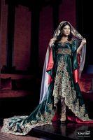 Cheap 2015 Arabic Kaftan Dubai Pakistan Abaya Evening Dresses Vestidos V Neck Long Sleeves Lace Appliques Crystals Beads Party Evening Dresses