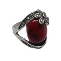 gemstone jewelry - Vintage Gemstone Rings Elegant Tibetan Rings Fashion Jewelry Vintage Gemstone Rings Turquoise Rings Assorted Designs TR052
