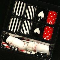 acrylic heart ornaments - Lovely heart false nails art decoration woman nails manicure art ornament display