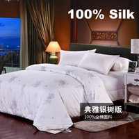 Wholesale BS111 High quality Silk Comforter Quilt Blanket Comforter Doona Duvet Bedding Sets Winter Comforter KG