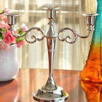 Wholesale European style Continental Arm Candlesticks Home Hotel Ktv Supplies Wedding Romantic Wedding Gifts