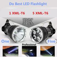 best battery type - F41 XML T6 the best Portable Lights LED Flashlight in the world Super strong Lumens lanterna lantern modes x battery