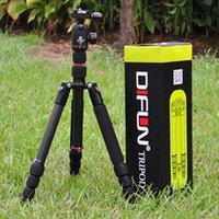 Wholesale DIFUN W T255 B tripod PTZ professional SLR three tripod Carbon Fiber Tripod removable monopod camera photography