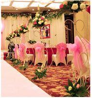 handrail - Glass gauze curtain Wedding gauze wedding decoration yarn Wedding layout props yarn stair handrail sharman cloth
