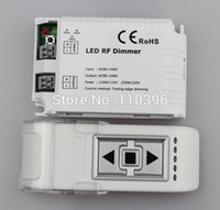 Wholesale 3 key wireless remote control triac rf led dimmer controller for single color led lamps v v output channel w
