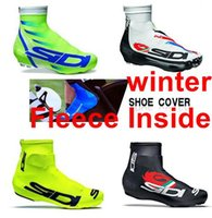 thermal protector - Winter Thermal Fleece NEW Pro Team Shoe Cover Cycling Overshoes Team Shoe Case Road Cycling Shoe Protector