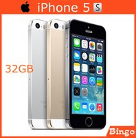 Wholesale Original iPhone S GB Unlocked Mobile phone Dual core inches G RAM MP Camera WIFI GPS Cell Phone dropshipping