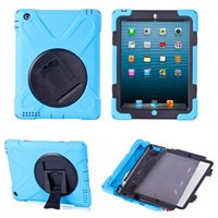 apple pirate - 360 Degree Swivel Pirates King Shockproof Kiskstand Case For ipad air ipad mini With Opp Bag