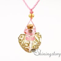 aromatherapy bottles - essential oil diffuser necklaces perfume necklace bottles oil diffusing necklace aromatherapy necklace diffuser pendant diffuser