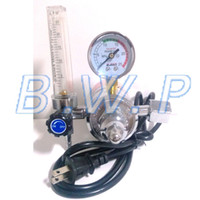Wholesale AC V Gas Heater CO2 Regulator Flow Meter for MIG Welding Tank Gas Pressure