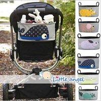 Wholesale AAA Quality Stroller Accessories Stroller Accessories storage bottle Diapers organizer bag handbag organizer travel bag LJJD275