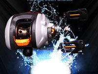 Wholesale 13 ball bearing baitcasting fishing reel with centrifuel braking system for river or Taiwan fishing