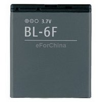 Cheap 2015 New Arrival Hot Sale Ferramentas free Shipping Bl-6f Battery for Nokia N78