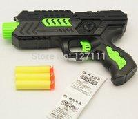 Cheap Free Ship Paintball Gun Pistol & Soft Bullet Gun Plastic Toys CS Game Shooting Water Crystal Gun 2-in-1 Nerf Air Soft Gun Airgun