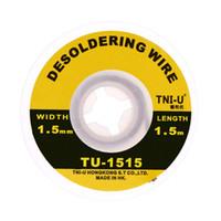 Wholesale TNI U TU mm Solder Wick Precision Desoldering Wire Accessories Braid Handy Soldering Wick order lt no track