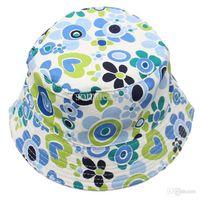 best baby sun hat - Best seller Fashion Cute Kids Girl Baby Summer Outdoor Bucket Hats Cap Sun Beach Beanie ww