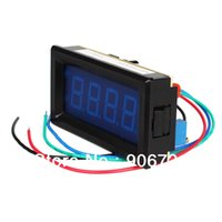 Wholesale High Quality DC A Blue LED Digital Ammeter and Shunt on Sale