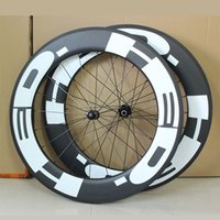 Carbon aero set - New C mm clincher wheelset Road bicycle matte K UD full carbon fibre bike wheelset aero spoke mm width