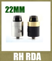 rda - New Royal Hunter RDA atomizer RH RDA Mod tank electronic cigarette rebuildable Atomizer VS The Troll mutation x clearomizer free ship ATB267