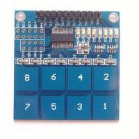 arduino capacitive sensor - 2015 Hot High Tech EF2 x TTP226 Digital Capacitive Switch Touch Sensor Module For Arduino CA3 Convenient Automation Control