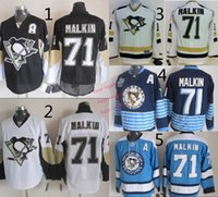 authentic malkin jersey - pittsburgh penguins evgeni malkin Ice Winter Jersey Cheap Hockey Jerseys Authentic Stitched Size