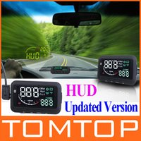 Wholesale ifound Updated nd Gen ActiSafety Multi Car HUD Vehicle mounted Head Up Display System OBD II Universal Overspeed Warning
