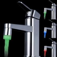 LED Faucet - Led Shower Faucet Temperature LED Water Faucet Light Glow LED Faucet for Faucet Kitchen Bathroom Tap LD8002 A12