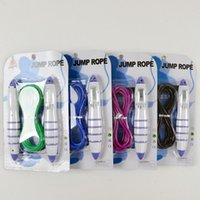 Wholesale Hot Intelligent CALORIE M Digital Skipping Jump Rope Counter Timer LCD F19 Mix Colors
