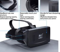 Wholesale D Glasses Version D VR Virtual Reality Google Glasses D Movies Games For iPhone and Android