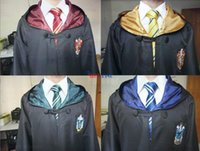 Wholesale Harry Potter Cloak Robe Cape Gryffindor Cosplay Costume Kids Adult Cloak Robe Cape styles Halloween Gift Size A3