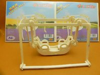 baby cradle models - Educational D Wooden Jigsaw Puzzles Toys DIY Pirate s Ship Great Toy Baby Cradle Models For Children