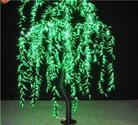 willow tree - Top quality M M W outdoor garden landscape tree led Christmas decorative artificial willow tree light
