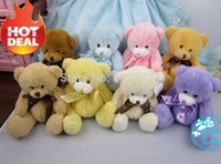 gift for children day - Valentine gift mixed color cm hot sale lovely plush teddy bear small plush bear for children gift valentine day