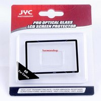 Wholesale JYC Pro hard LCD Screen glass Protector for Canon D Camera