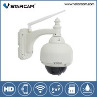 Wholesale Vstarcam C7833WIP Plug Play Outdoor PTZ Wireless WiFi MP HD P IP Camera Security with Pan Tilt SD Card IR Cut m