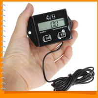 Wholesale LCD Display Digital Tachometer Tacho Gauge Hour Meter For Motorcycle Boat Engines