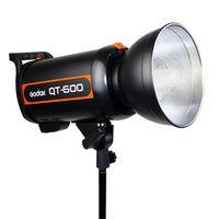 Wholesale New Godox QT600 Professional Studio Strobe Photo Flash Light QT Ws s Flash Duration s Recycling Time V V E5181O