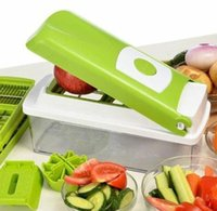 Wholesale Peeler Chopper Fruit Vegetable Nicer Dicer Cutter Chop Peeler Precision Cutting Kitchen Tools Chop Peeler Chopper