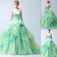 affordable modern lighting - Vestidos Debutante Quinceanera Dresses Ball Gowns Light Green Strapless Zipper Back Long Affordable Prom Party Dress Birthday